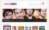 Адаптивний WooCommerce шаблон на тему новинний портал New Screenshots BIG