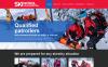 Адаптивный HTML шаблон №49331 на тему катание на лыжах New Screenshots BIG