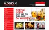 Адаптивный PrestaShop шаблон №49322 на тему напитки и еда New Screenshots BIG