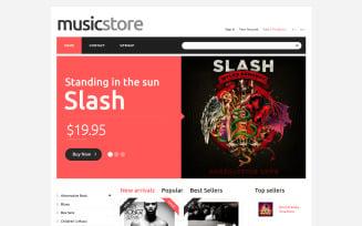 All Tastes Music PrestaShop Theme