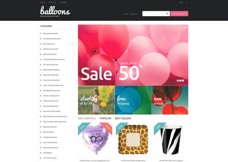 Balloons and Party Items