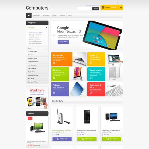 Computers - Responsive Magento Template