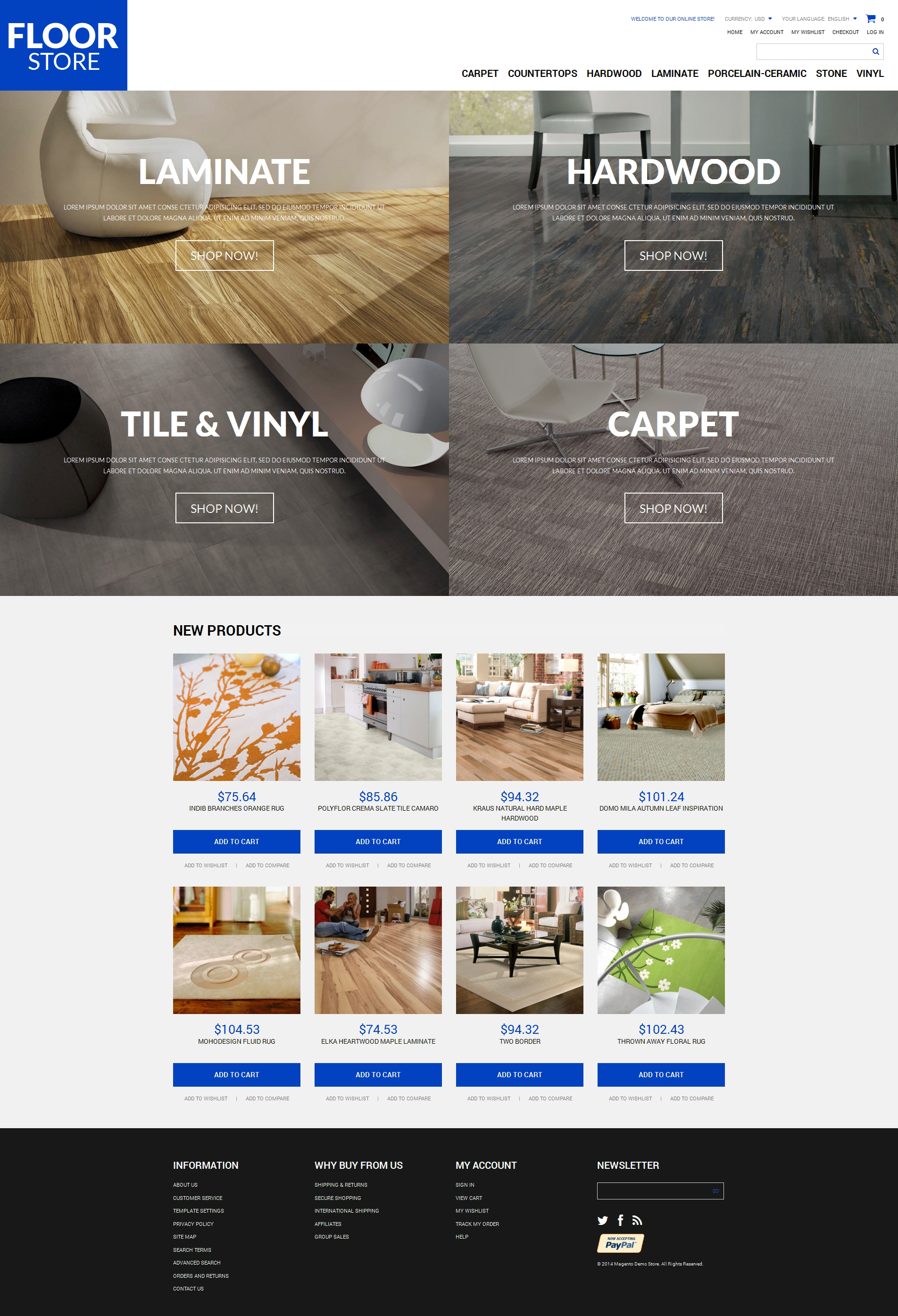 Google chrome themes zoomed in