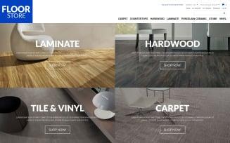 Floor Materials Store Magento Theme