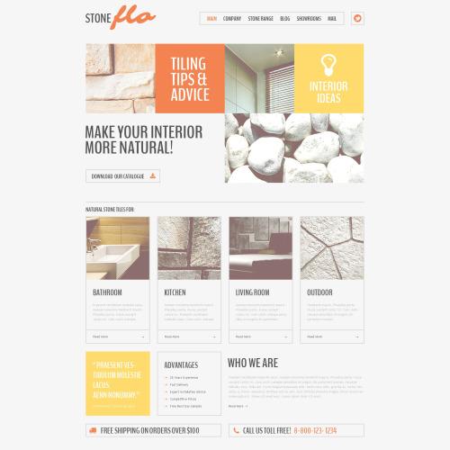 Stone Flo - HTML5 Drupal Template
