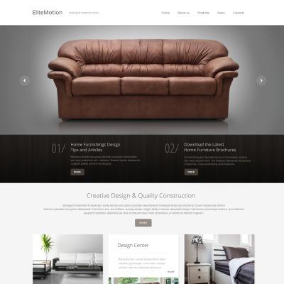 . Furniture Website Templates   TemplateMonster