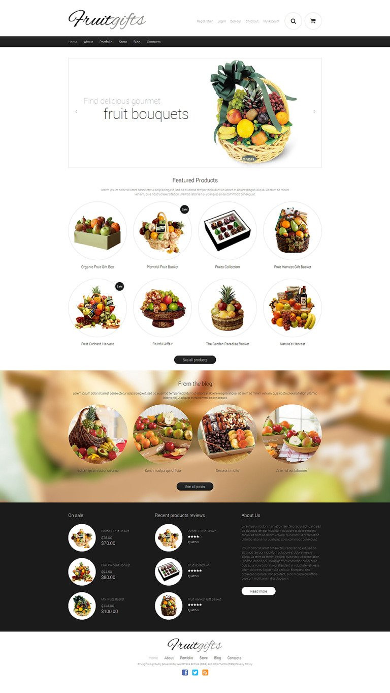 Gifts Responsive WooCommerce Theme New Screenshots BIG