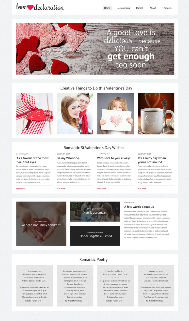 Gifts Store Responsive Website Template New Screenshots BIG