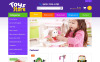"""Magasin de jouets"" thème OpenCart adaptatif New Screenshots BIG"
