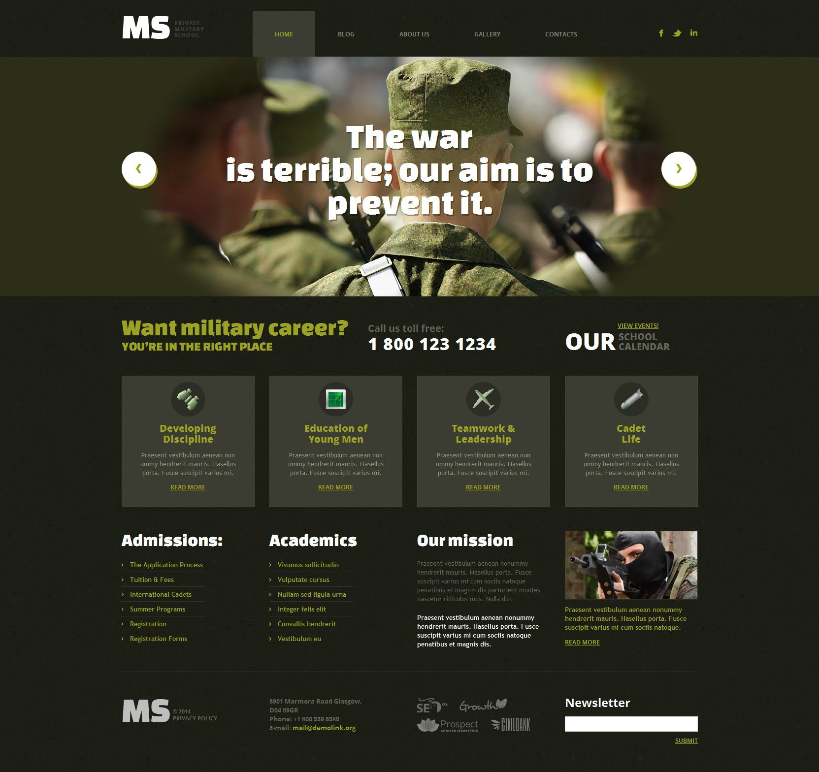 Us military website