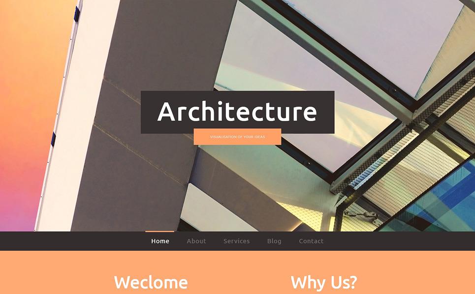 Modèle Web adaptatif  pour entreprise de construction New Screenshots BIG
