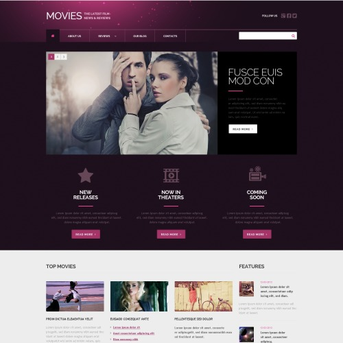 Movies - WordPress Template based on Bootstrap