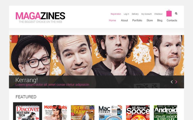 News Portal Responsive WooCommerce Theme
