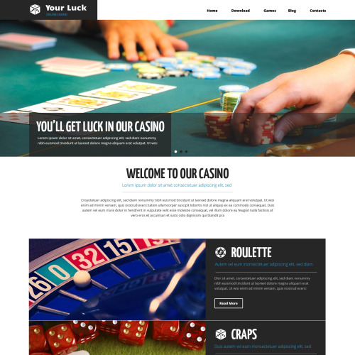 Your Luck - HTML5 Drupal Template
