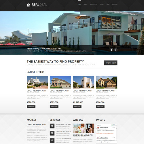 Real Deal - Joomla! Template based on Bootstrap
