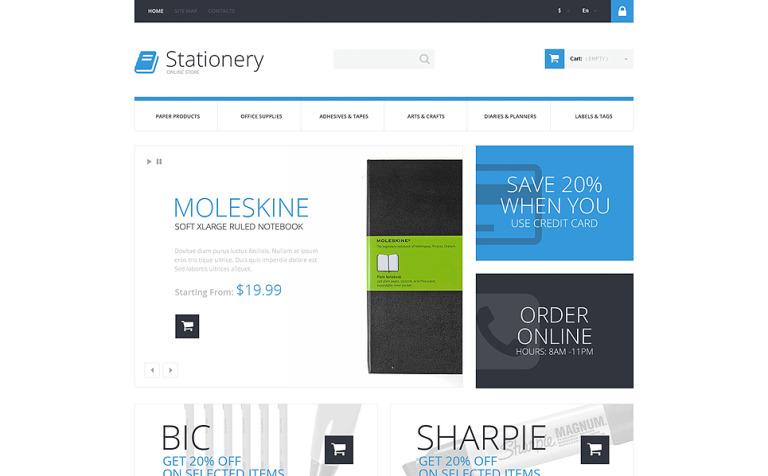 Stationery Store PrestaShop Theme
