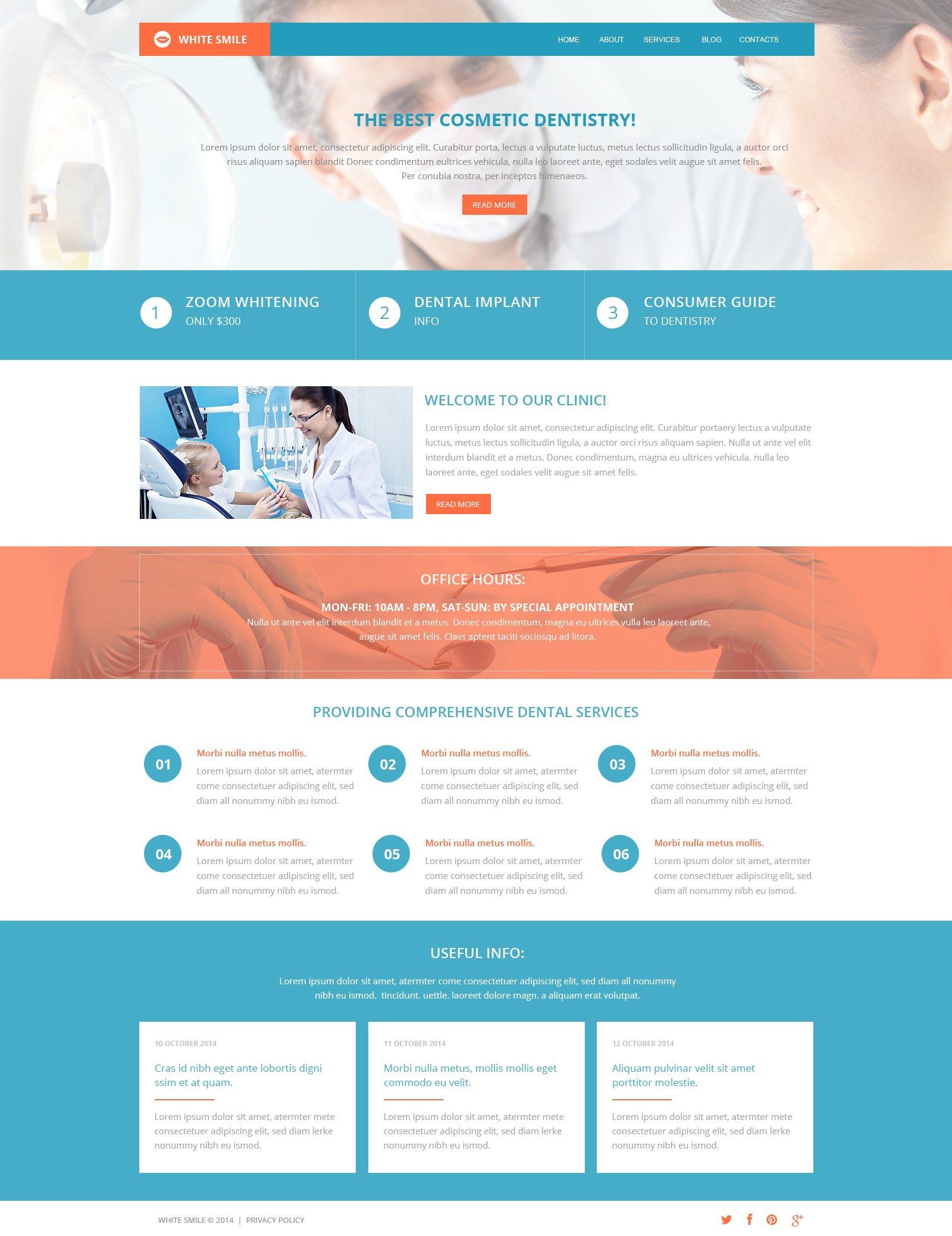 Szablon Drupal #49317 na temat: stomatologia