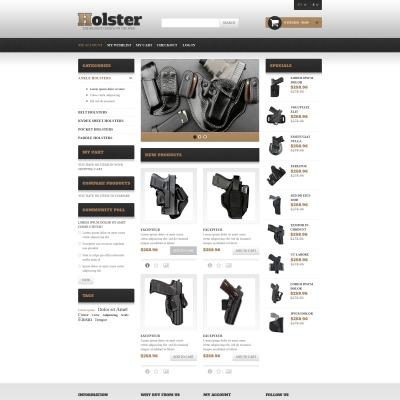 Flexível tema Magento №49370 para Sites de Loja de Armas