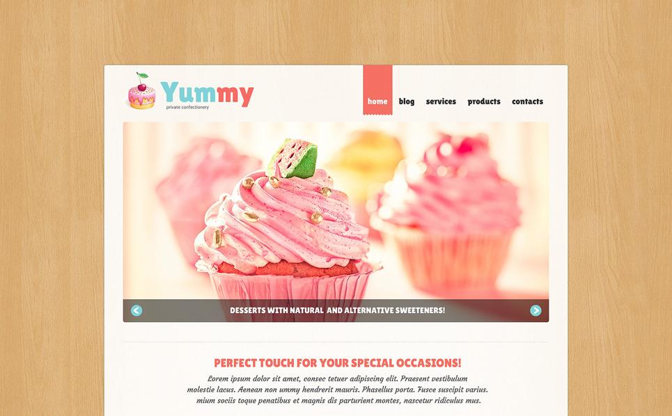 Template Joomla Flexível para Sites de Bomboniere №49391 New Screenshots BIG