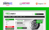 Thème Magento adaptatif  pour vente de roues et pneus  New Screenshots BIG