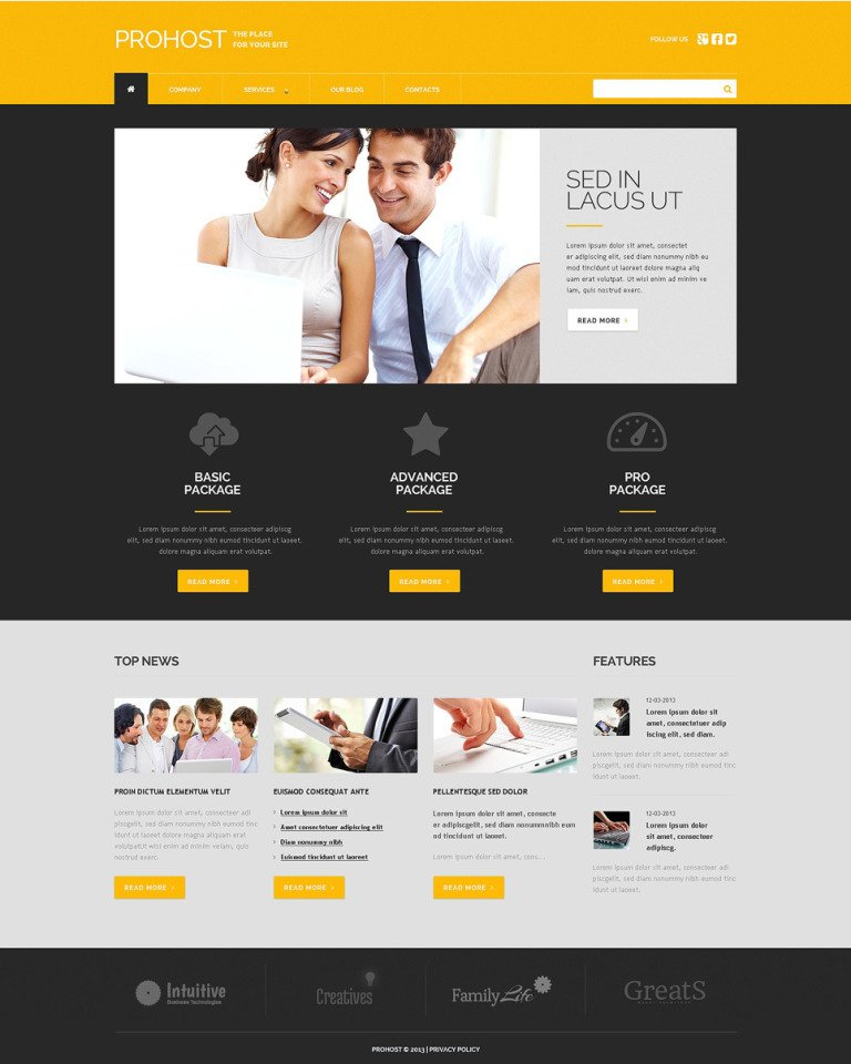 Web Development Responsive WordPress Theme New Screenshots BIG