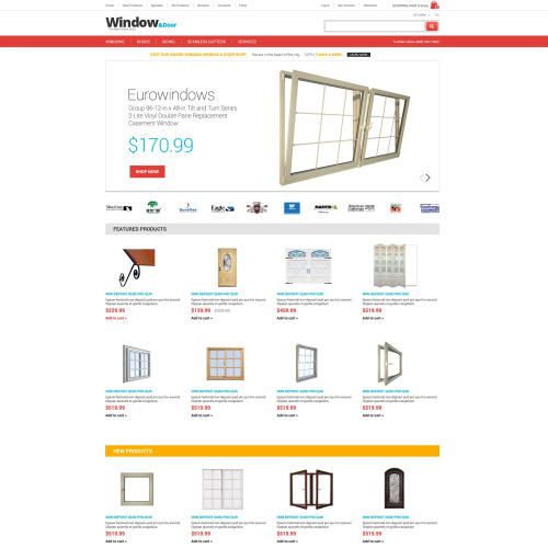 Window - HTML5 ZenCart Template