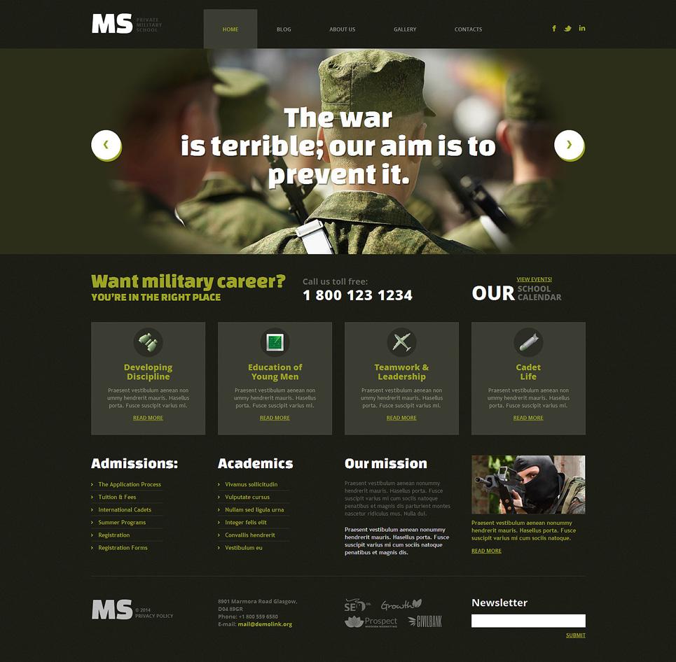 Шаблон военная тематика №49362 #49362