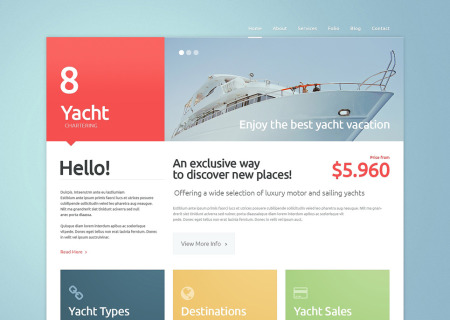 Yachting Responsive