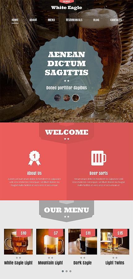 WordPress Theme/Template 49402 Main Page Screenshot