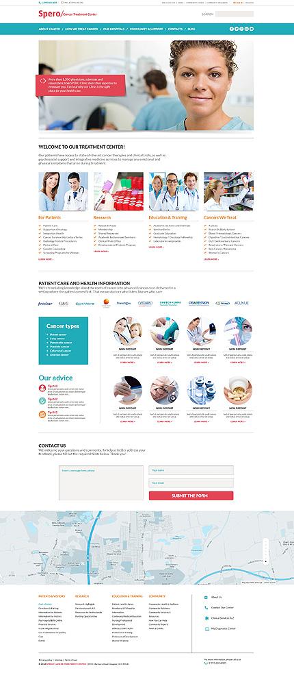 WordPress Theme/Template 49405 Main Page Screenshot