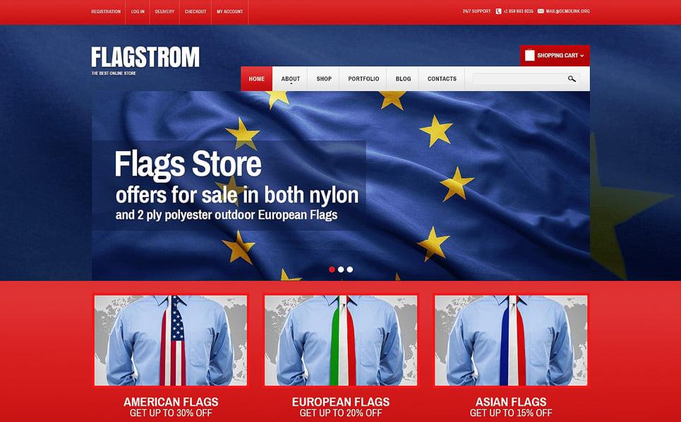 Responsive WooCommercie Thema over Politieke New Screenshots BIG
