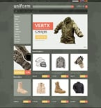 Fashion osCommerce  Template 49416