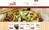 Responsivt Magento-tema för japansk restaurang New Screenshots BIG