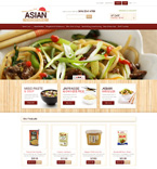Food & Drink Magento Template 49418