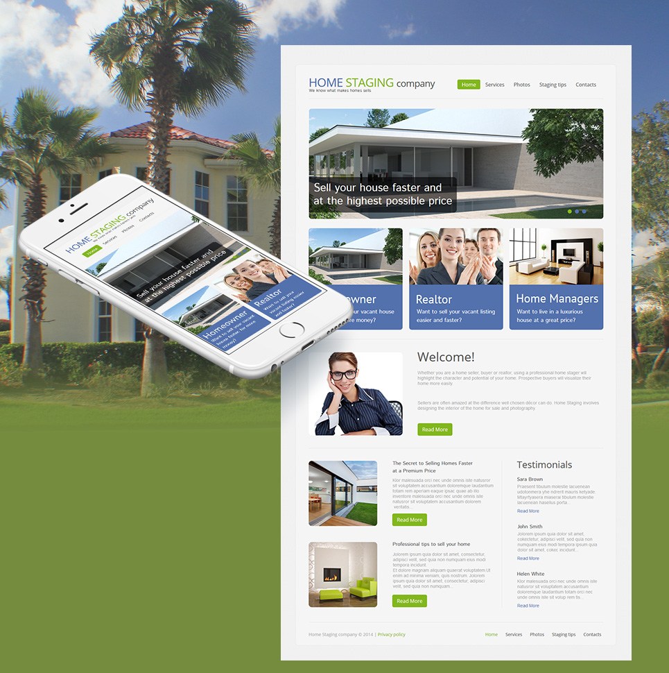 Flexible Website Design for Real Estate Agencies - image