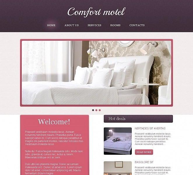 Premium Motel  Moto Cms Html Şablon New Screenshots BIG