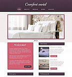 Hotels Moto CMS HTML  Template 49427