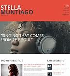 Music Moto CMS HTML  Template 49430