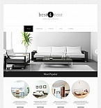 Real Estate Moto CMS HTML  Template 49434