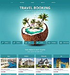 Travel Moto CMS HTML  Template 49437