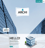 Architecture Website  Template 49460