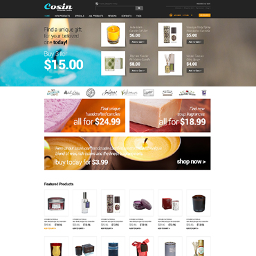Купить  пофессиональные ZenCart шаблоны. Купить шаблон #49462 и создать сайт.
