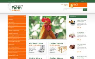 Poultry Farm Supplies PrestaShop Theme