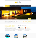 Real Estate WordPress Template 49465
