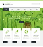 Science WordPress Template 49466