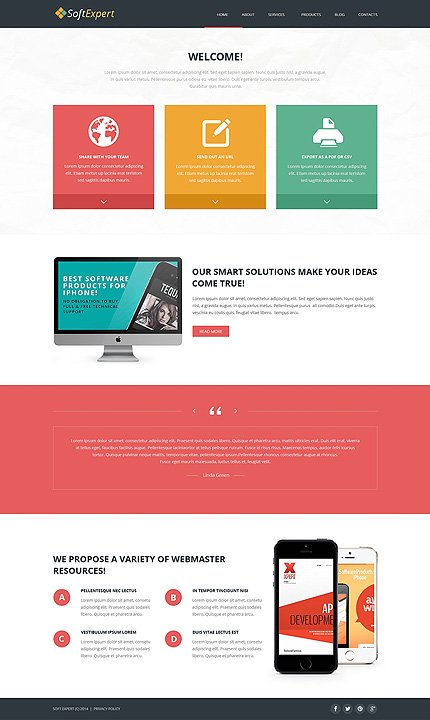 Joomla Theme/Template 49485 Main Page Screenshot