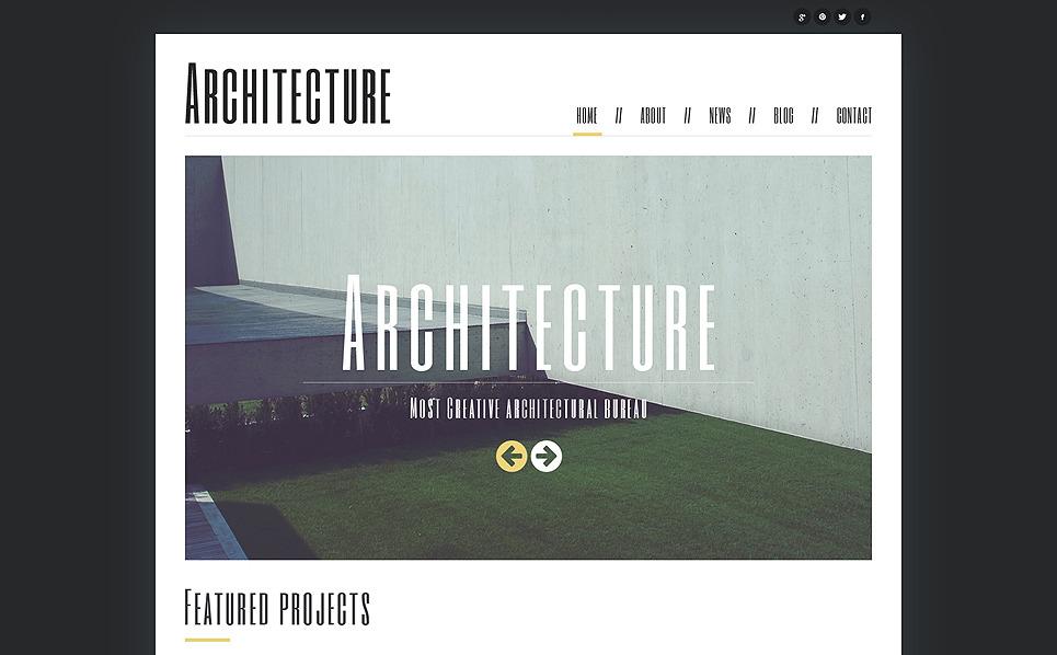 Thème Joomla adaptatif  pour entreprise de construction New Screenshots BIG