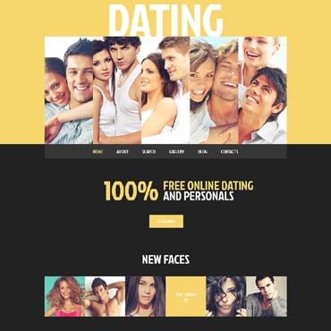 Wordpress online dating template