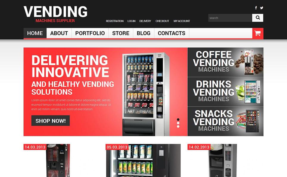 Адаптивный WooCommerce шаблон №49470 на тему напитки и еда New Screenshots BIG