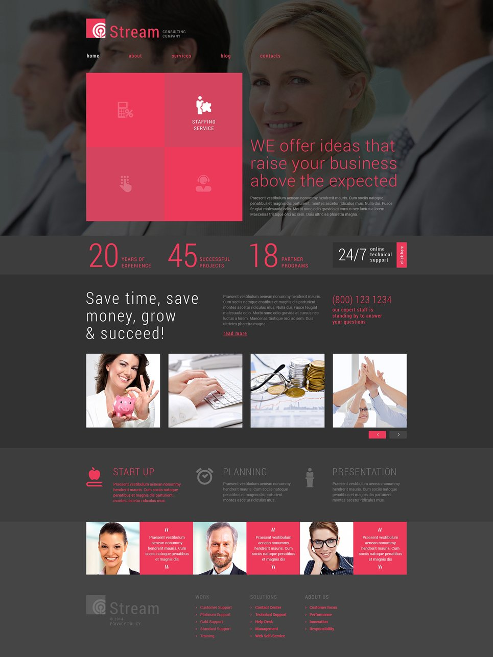 Business Consulting Company Joomla Template #49488